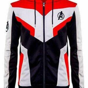 Avengers Endgame Jacket - Quantum Realm Cosplay Hoodie