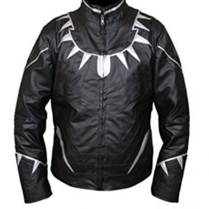 Black Panther Leather Jacket From Avengers Endgame Flesh Jacket3