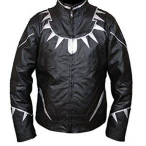 Black Panther Leather Jacket From Avengers Endgame Flesh Jacket3