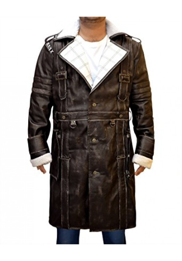 Elder Maxson Coat - Arthur Maxson Fallout 4 Jacket
