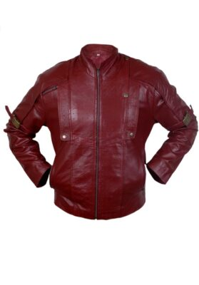 Guardians Of The Galaxy Leather Jacket Avengers - End Game