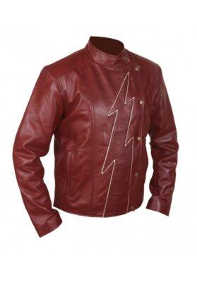 Mens Flash Season 2 Jay Garrick Teddy Sears Jacket