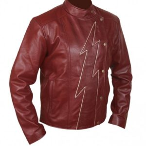 Mens Flash Season 2 Jay Garrick Teddy Sears Jacket