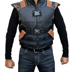 Michael B Jordan Black Panther Erik Killmonger Vest Flesh Jacket