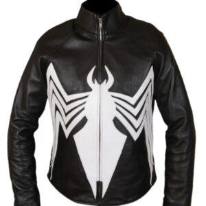 The Venom Leather Jacket Flesh Jacket
