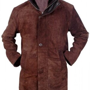 Sheriff Walt Longmire Robert Taylor Leather Coat Flesh Jacket
