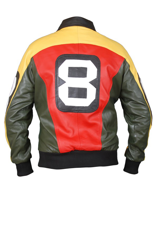 8 Ball jacket flesh