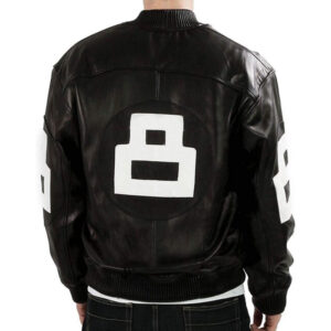 8 ball black jacket
