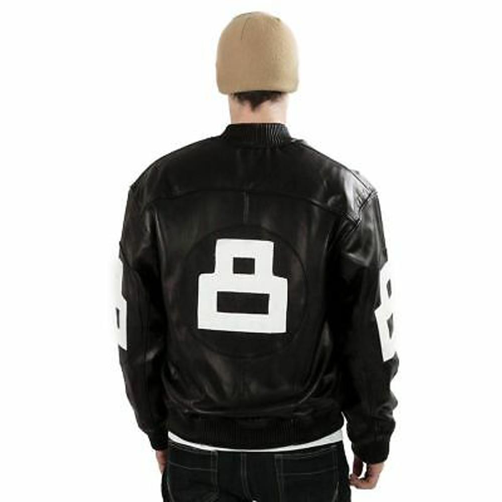 8 ball jacket black