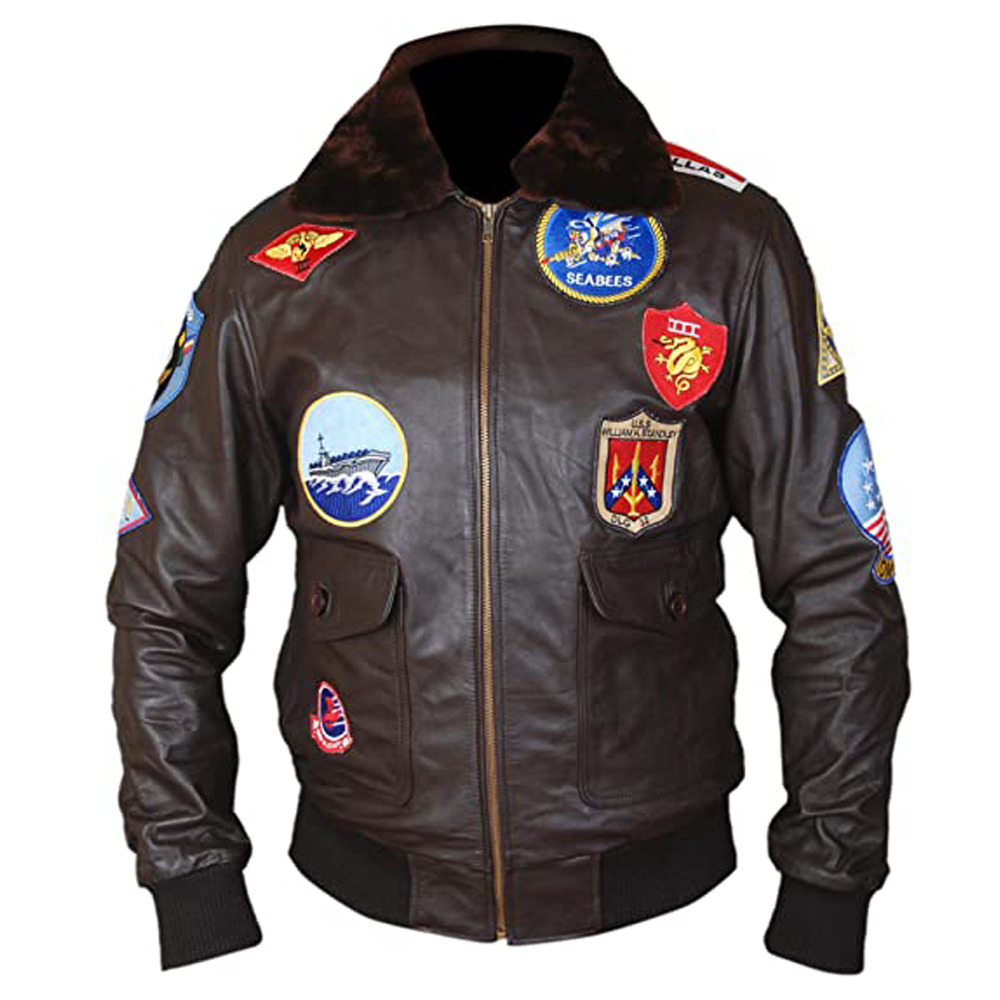 Top Gun Pete Maverick Tom Cruise Flight Bomber Jacket 1