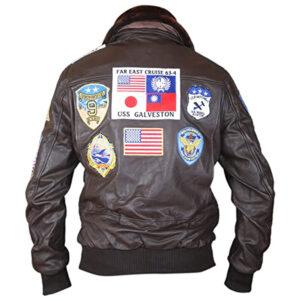 Top Gun Pete Maverick Tom Cruise Flight Bomber Jacket 2