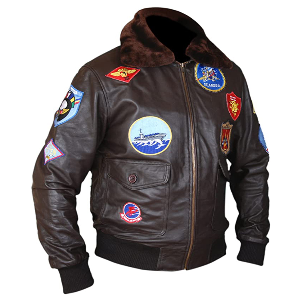 Top Gun Pete Maverick Tom Cruise Flight Bomber Jacket