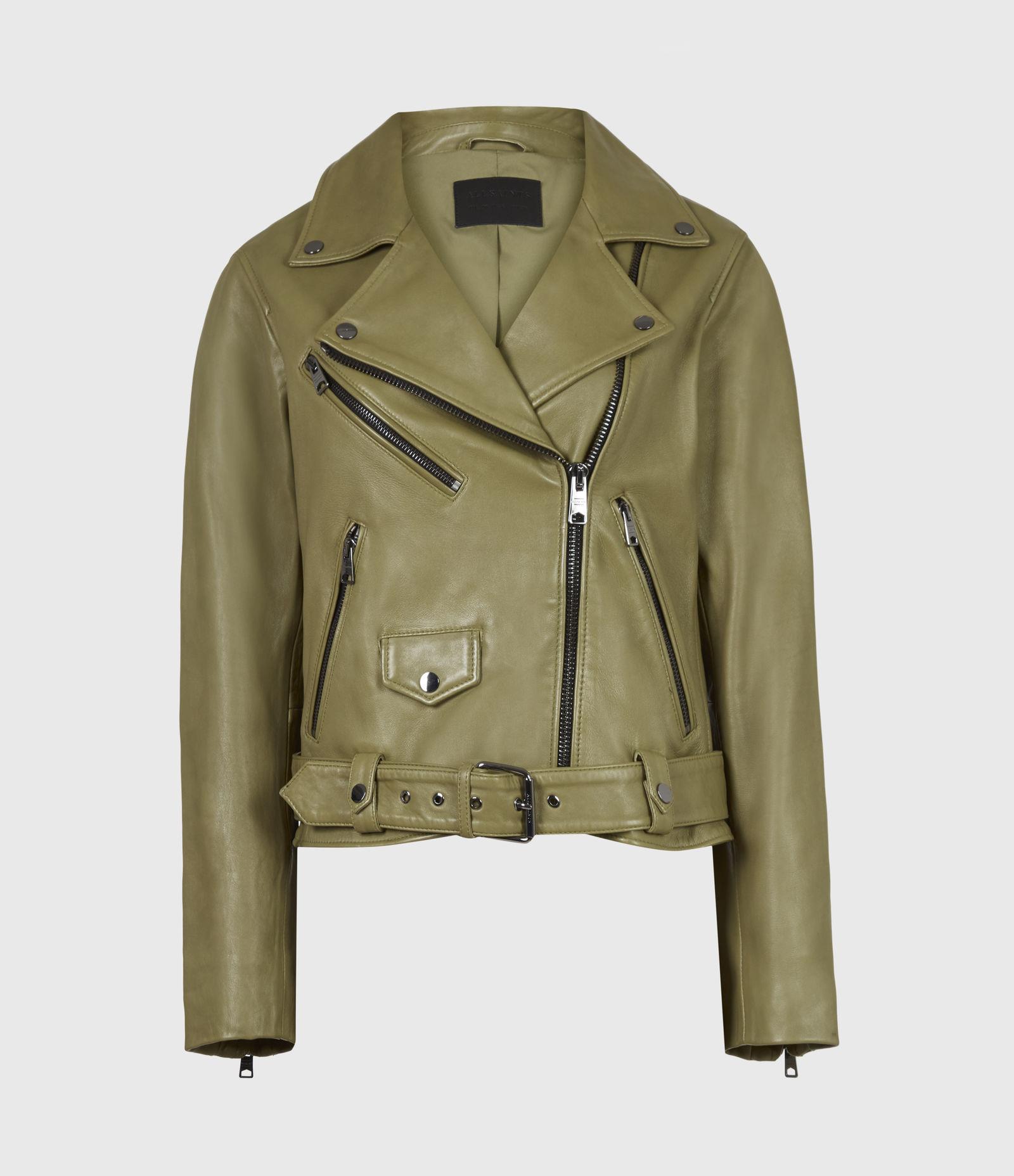 Griffen Leather Biker Jacket